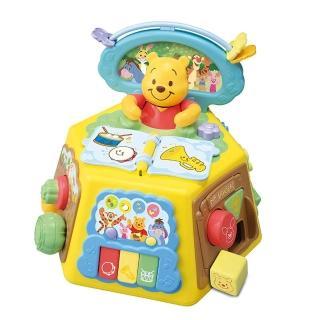 【Disney 迪士尼】維尼音樂益智盒(迪士尼 幼兒)