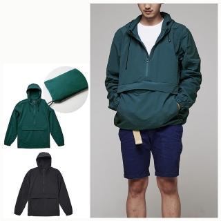 【United Athle】機能可收納口袋風衣 oversize衝鋒衣(可收納口袋包包)