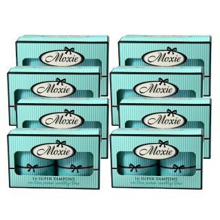【Moxie 魔晰】衛生棉條 - 量多型(16入/盒 x 8盒)