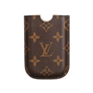 【Louis Vuitton 路易威登】LV Outlet M40557 經典monogram Blackberry手機套(咖啡)