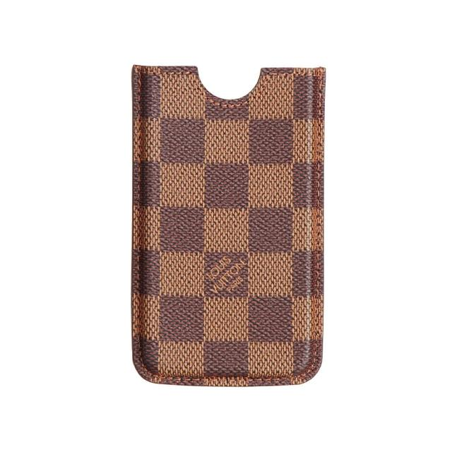 【Louis Vuitton 路易威登】LV Outlet N63101 經典Damier Ebene帆布IPHONE手機套