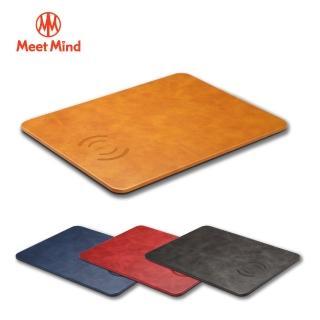 【Meet Mind】10W 無線充電滑鼠板(充電盤)