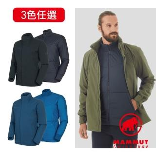 【Mammut 長毛象】Trovat 3 in 1 HS Hooded Jacket AF 兩件式保暖連帽外套 #1010-27310