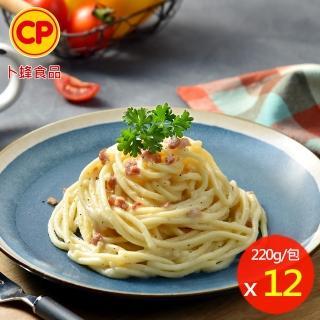 【卜蜂】奶油培根義大利麵 12包組(230g/包)