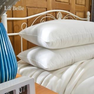 【La Belle】《日本防蹣抗菌可水洗極致舒柔枕》(超值四入)