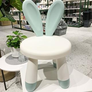 【Ashley House】超萌兔兔安全兒童椅玩具椅/ 椅凳(3色可選)