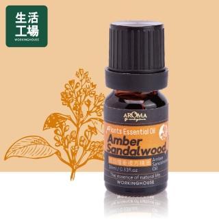 【生活工場】Plants琥珀檀香複方精油10ml