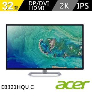 【Acer 宏碁】EB321HQU C 32型 IPS 螢幕