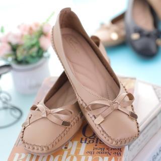 澳洲LINS馬克手縫輕軟止滑仕女鞋