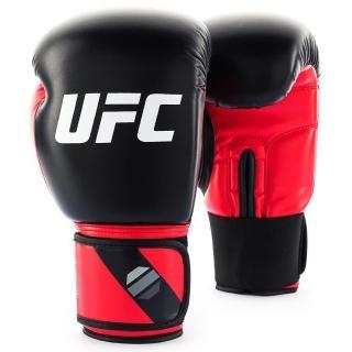 【UFC】PRO 輕巧型訓練拳套-紅/黑