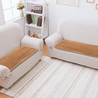 【格藍傢飾】AIR Fit晶絲絨支撐保暖坐墊(3人座)
