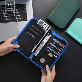 【P.travel】RFID護照夾-長版