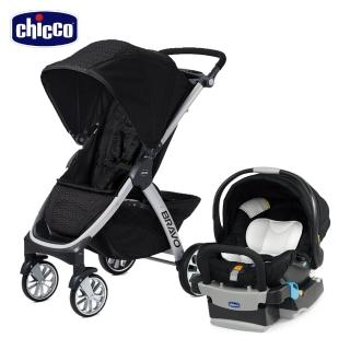 【Chicco】Bravo極致完美手推車+KeyFit 手提汽座(嬰兒手推車)