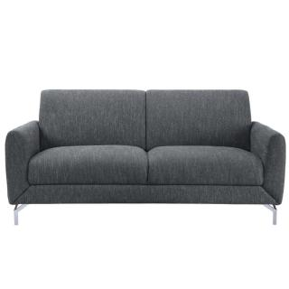 【FL 滿屋生活】FL 現代美式深灰三人位布沙發(實木沙發/造型沙發/美式沙發/小沙發/熱銷款)