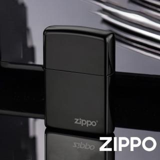 【Zippo】美系-黑炫冰防風打火機(美國防風打火機)