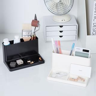 【SYSMAX】〔希思美〕桌上整理筆筒 黑(桌上整理 筆筒 多 收納)
