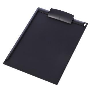 【SYSMAX】〔希思美〕A4書寫板夾直式 /黑灰(A4板夾/書寫板夾/會議紀錄用/帳單夾/直式板夾)