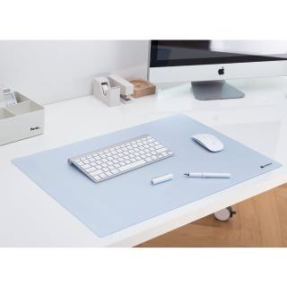 【SYSMAX】〔希思美〕高質感軟質 桌墊 /半透明 L(桌墊/軟質/滑鼠墊/鍵盤墊/寫字墊)