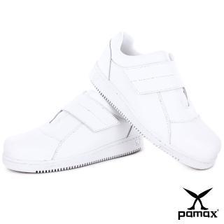 【PAMAX 帕瑪斯】超彈力高抓地力安全鞋、護士鞋、醫療業、食品業、寬楦鋼頭(PT08509FEH白 /男女)
