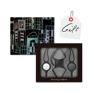 【Bone】手機綁禮物組 PhoneTie Combo Gift - 低調黑(生日禮物 情人節禮物 送禮首選 手機長/短吊繩)