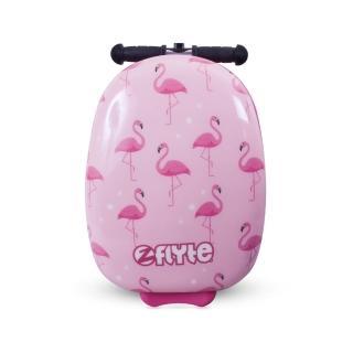 【Zinc Flyte】18吋多功能滑板車行李箱-菲菲紅鶴鳥(滑板車)