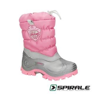 【義大利 SPIRALE】Sabrina童靴/雪靴(芭比粉)