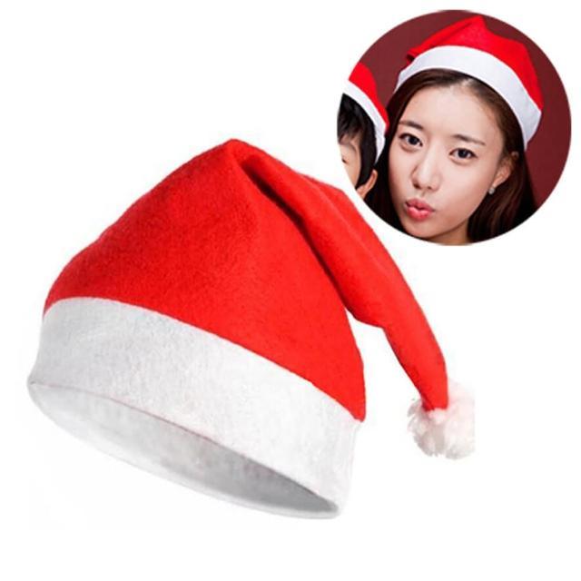 【優米歐】大人聖誕帽(普通不織布)(12入裝)/