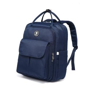 【Heine 海恩】WIN-0208 媽媽包後背包 育兒包 待產包 藏藍色(超強收納 多夾層多口袋)