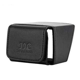 【JJC】可折疊攝錄影機無反單眼相機螢幕遮光罩 LCH-30(螢幕遮陽罩 螢幕太陽罩 螢幕遮罩 攝影機取景器)