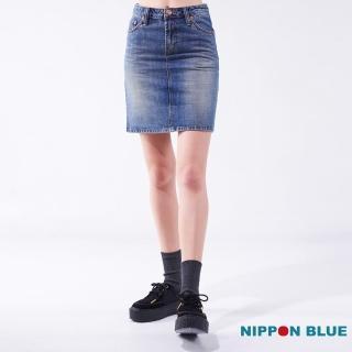 【BLUE WAY】空海浪牛仔短裙-鬼洗