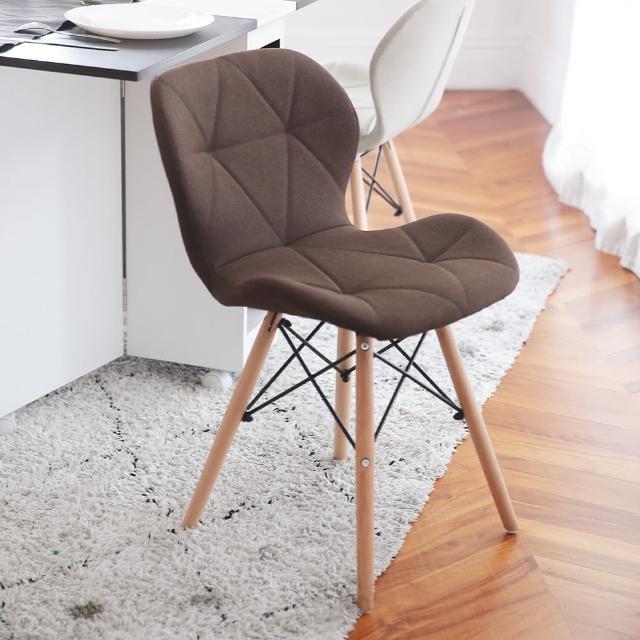【MAMORU】北歐復刻蝴蝶椅 夏日麻布款/質感皮革款(2入 餐椅/休閒椅)
