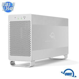 【OWC】Mercury Elite Pro Dual(U3+FW800 雙介面-雙槽 3.5 吋 SATA 磁碟陣列外接碟盒)