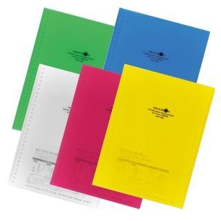 【LIHIT L】N-1620-3 紅色活頁筆記本(AUQA DROPs)