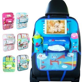 【JoyNa】第三代車用椅背收納袋可放手機+平板 置物袋汽車雜物