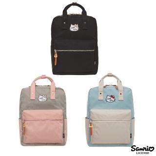 【HELLO KITTY】凱蒂學院-方型後背包(FPKT0F001)