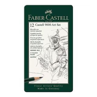 【Faber-Castell】119065G 高級素描鉛筆12入(素描鉛筆)