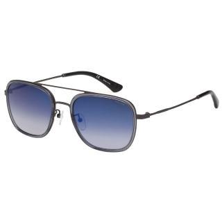 【POLICE】水銀面 太陽眼鏡(透明灰+槍色)