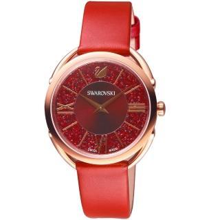 【SWAROVSKI 施華洛世奇】Crystalline Glam腕錶(5519219)