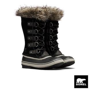 【SOREL】JOAN女款運動長靴(黑色)