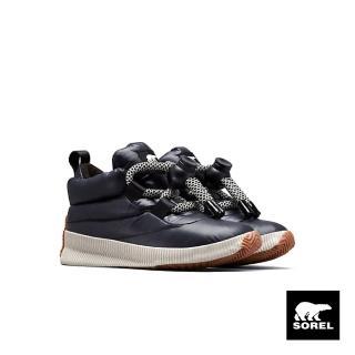【SOREL】女款戶外休閒鞋(黑色)