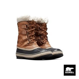 【SOREL】節慶系列女款帆布運動靴(駝色)