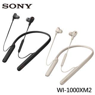 【SONY 索尼】WI-1000XM2 無線藍芽降噪頸掛入耳式耳機(公司貨)