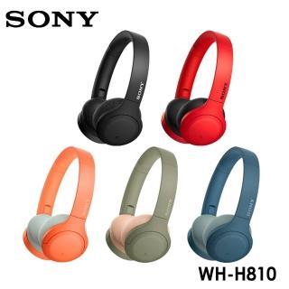 【SONY 索尼】WH-H810 無線藍牙耳罩式耳機(公司貨)