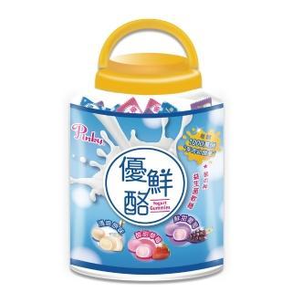 【Pinky】優鮮酪益生菌軟糖 歡樂桶 禮盒(原味 / 葡萄 / 草莓 3種口味)