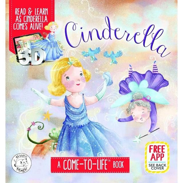 Cinderella- Augmented Reality Come-to-Life Book