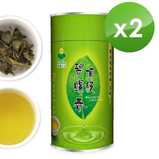 【KOMBO】台灣頂級綠茶-三峽碧螺春綠茶禮盒(150克*2罐/附提袋)