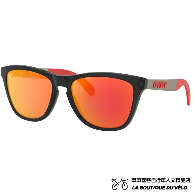 【Oakley】FROGSKINS MIX MOTOGP COLLECTION MOTO GP COLLECTION(PRIZM 運動太陽眼鏡 OO9428-0955)