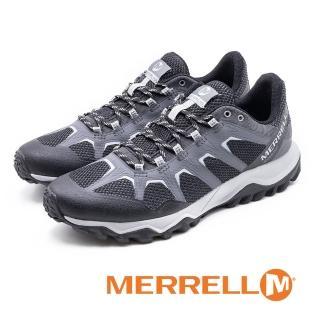 【MERRELL】男Fiery Gore Tex防水郊山健行鞋 男鞋(灰)
