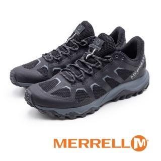 【MERRELL】男Fiery Gore Tex防水郊山健行鞋男鞋(黑)