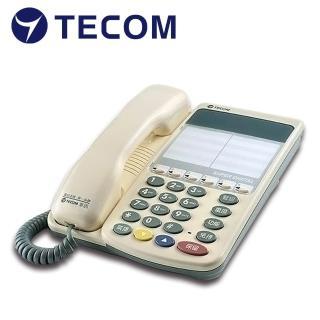 【TECOM 東訊】6鍵標準型話機 SD-7706S(東訊總機系統專用)